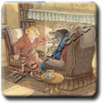 Wind in the Willows Miniature Prints
