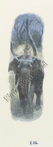 Jungle Book page 116 Mogli with elephant