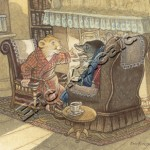 Ratty told Mole River Stories