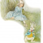Alice with the White Rabbit page 9