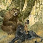 Bagheera Baloo & Mowgli
